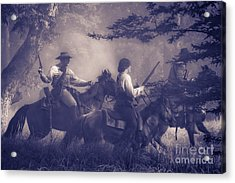 Charging Through Acrylic Print by Kim Henderson