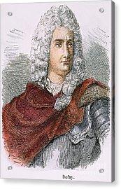 Charles-francois Du Fay Acrylic Print by Granger