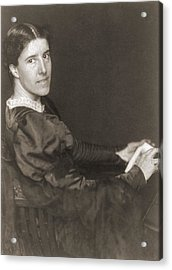 Charlote Perkins Gilman 1860-1935 Acrylic Print by Everett