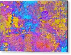 Chemiluminescence Acrylic Print by Christopher Gaston