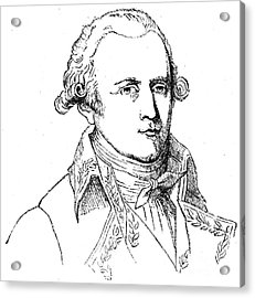 Chevalier De Lamarck Acrylic Print by Granger