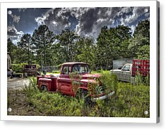 Chevrolet 3200 Acrylic Print by Alice Link