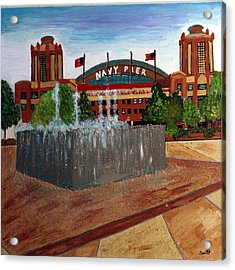 Chicago Navy Pier Acrylic Print by Char Swift