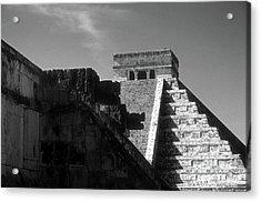 Chichen Itza Ruins Yucatan Mexico Acrylic Print