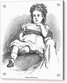 Children: Types Acrylic Print by Granger