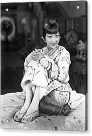 Chinatown Charlie, Anna May Wong, 1928 Acrylic Print by Everett
