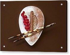 Chocolate Praline Acrylic Print by Joana Kruse