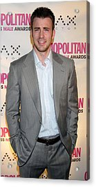 Chris Evans At Arrivals Acrylic Print by Everett