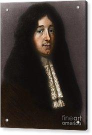Christiaan Huygens, Dutch Polymath Acrylic Print