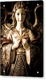 Christmas Angel Acrylic Print by Julie Palencia