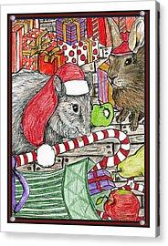 Christmas Treats Acrylic Print by Marla Saville