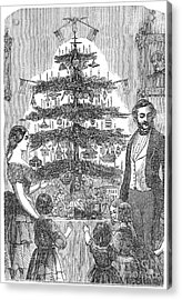 Christmas Tree, 1864 Acrylic Print by Granger