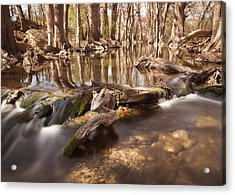 Cibolo Creek Acrylic Print by Paul Huchton
