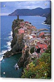 Cinque Terre Italy Fine Art Print Acrylic Print by Ian Stevenson