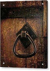 Close The Door Acrylic Print by Odd Jeppesen
