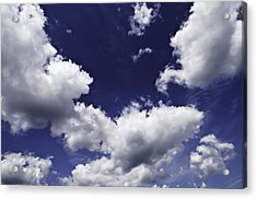 Acrylic Print featuring the photograph Clouds  by Paul Plaine