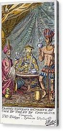 Coffee, Tea & Chocolate, 1685 Acrylic Print by Granger