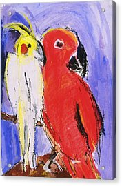 Companion Acrylic Print by Iris Gill