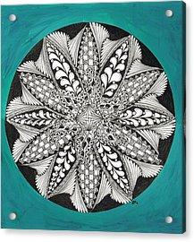 Completed Zen Acrylic Print