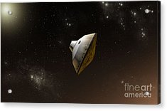 Concept Of Nasas Mars Science Acrylic Print by Stocktrek Images