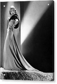 Constance Bennett, Circa 1930s Acrylic Print by Everett