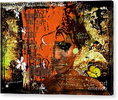 Contrasts Acrylic Print