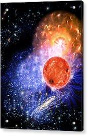 Cosmic Evolution Acrylic Print by Don Dixon