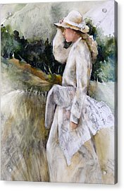 Country Girl Acrylic Print