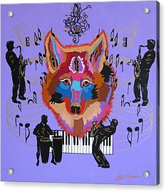 Coyote Harmony Acrylic Print