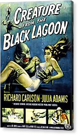 Creature From The Black Lagoon Acrylic Print by Everett