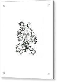 Creepy Curiosity Vi Acrylic Print by Jeff Gould