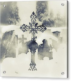 Cross Acrylic Print by Joana Kruse
