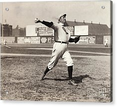 Cy Young (1867-1955) Acrylic Print by Granger
