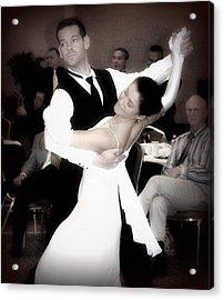 Dance With Me Acrylic Print by Lori Seaman