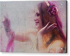 Dancer Acrylic Print by Jeff Burgess