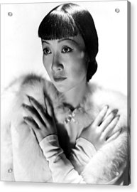Dangerous To Know, Anna May Wong, 1938 Acrylic Print by Everett