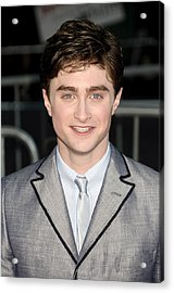 Daniel Radcliffe At Arrivals For Harry Acrylic Print by Everett