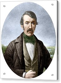 David Livingstone, Scottish Explorer Acrylic Print by Sheila Terry