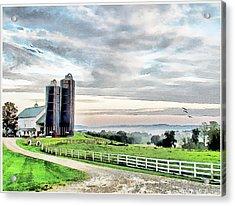 Daybreak Acrylic Print by Tom Schmidt