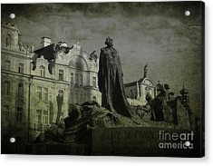 Death In Prague Acrylic Print by Lee Dos Santos