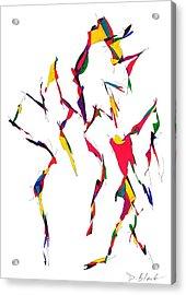 Definism Design 12 Acrylic Print