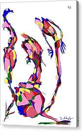 Definism Design 19 Acrylic Print by Darrell Black