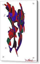 Definism Design 21 Acrylic Print by Darrell Black
