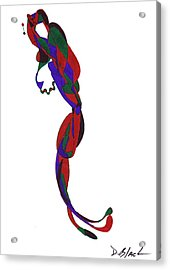 Definism Design 22 Acrylic Print by Darrell Black