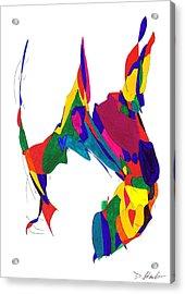 Definism Design 5 Acrylic Print