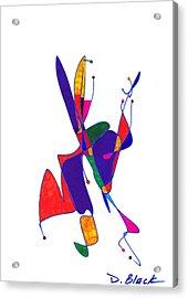 Definism Design 6 Acrylic Print