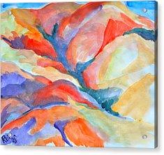 Desert Landscape Acrylic Print by Rufus Norman