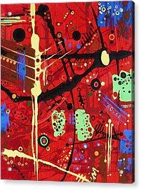 Dia De Muertos Acrylic Print