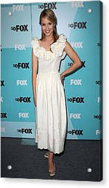 Dianna Agron At Arrivals For Fox Acrylic Print by Everett