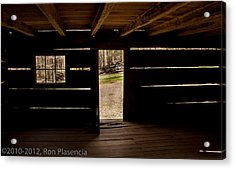 Doorway To The Past Acrylic Print by Ron Plasencia